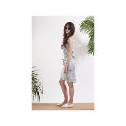 Sukienka Tropical Palm. Brązowe sukienki damskie Afriq password, z bawełny. Za 169.00 zł.