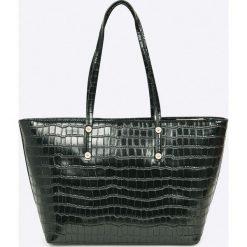 Versace Jeans - Torebka. Czarne torby na ramię damskie Versace Jeans. Za 839.90 zł.