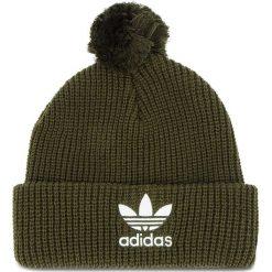 Czapka adidas - Pom Pom Beanie D98943  NGTCAR. Zielone czapki i kapelusze męskie Adidas. Za 99.95 zł.