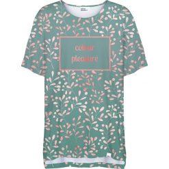 Colour Pleasure Koszulka damska CP-033 252  zielona r. uniwersalny. Bluzki damskie marki Colour Pleasure. Za 76.57 zł.