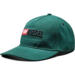 Czapka z daszkiem DIESEL - Cakerym-Max Hat 00SIIQ-0LAOI-51F Olive Night. Zielone czapki i kapelusze męskie Diesel. Za 249.00 zł.