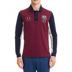 Koszulka polo w kolorze bordowym ze wzorem. Koszulki polo męskie marki INESIS. W wyprzedaży za 199.95 zł.