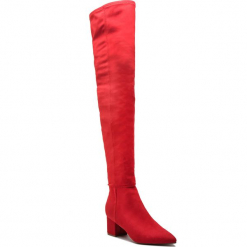 Muszkieterki STEVE MADDEN - Bolted Boot SM11000229-04001-009 Red. Kozaki damskie marki Roberto. W wyprzedaży za 389.00 zł.