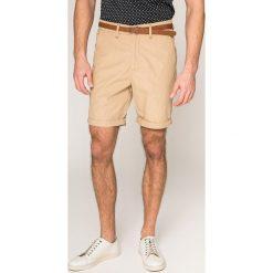 Guess Jeans - Szorty. Różowe szorty męskie Guess Jeans, z jeansu, casualowe. W wyprzedaży za 299.90 zł.