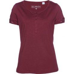 T-shirt bonprix czerwony rododendron. T-shirty damskie marki DOMYOS. Za 69.99 zł.