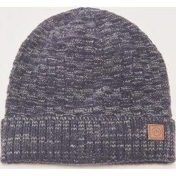 Melanżowa czapka - Granatowy. Niebieskie czapki i kapelusze męskie House. Za 29.99 zł.