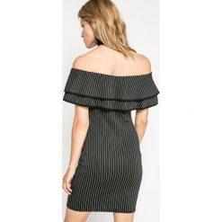 Missguided - Sukienka. Szare sukienki damskie Missguided, z dzianiny, casualowe. W wyprzedaży za 59.90 zł.