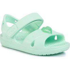 Sandały CROCS Crocband Sandal Kids 12856 Electric PinkCantaloupe