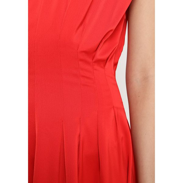 d8a9d937c1d1af Nümph CYRILLA DRESS Długa sukienka hot coral - Sukienki damskie ...