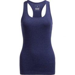 Top damski TSD600B - denim melanż - Outhorn. Niebieskie topy damskie Outhorn, melanż, z bawełny. W wyprzedaży za 19.99 zł.