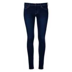 Pepe Jeans Jeansy Damskie Lola 30/30 Ciemny Niebieski. Niebieskie jeansy damskie Pepe Jeans. W wyprzedaży za 339.00 zł.