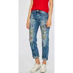 Calvin Klein Jeans - Jeansy Sterling Blue. Niebieskie jeansy damskie Calvin Klein Jeans. W wyprzedaży za 539.90 zł.