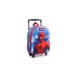 Spiderman Spider Man Walizka Na Kołkach Plecak 3d. Brązowe torby i plecaki dziecięce Świat Bajek. Za 84.01 zł.