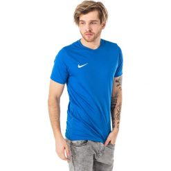 Nike Koszulka piłkarska Park VI niebieska r. XL (725891463). Koszulki sportowe męskie marki bonprix. Za 53.82 zł.