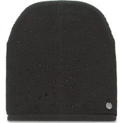 Czapka LIU JO - Cuffia Maglia Strass N68321 M0300  Nero 22222. Czarne czapki i kapelusze damskie Liu Jo, z materiału. Za 149.00 zł.