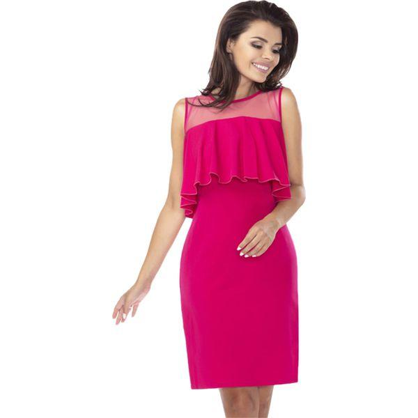 1e13e39c68 Sukienka w kolorze fuksji - Sukienki damskie marki Ryłko by Agnes ...