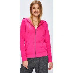 Adidas Performance - Bluza. Różowe bluzy damskie adidas Performance, z nadrukiem, z bawełny. Za 229.90 zł.