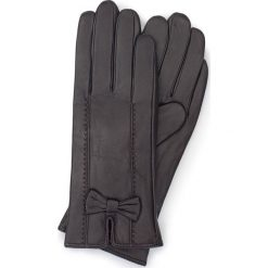 Rękawiczki damskie 39-6-536-BB. Brązowe rękawiczki damskie Wittchen, z polaru. Za 99.00 zł.