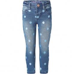 """Dżinsy """"Gallup aop"""" w kolorze niebieskim. Niebieskie jeansy dla dziewczynek Noppies Baby. W wyprzedaży za 65.95 zł."""