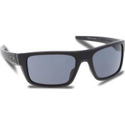 Okulary przeciwsłoneczne OAKLEY - Drop Point OO9367-0160 Matte Black/Grey. Czarne okulary przeciwsłoneczne męskie Oakley, z tworzywa sztucznego. W wyprzedaży za 449.00 zł.