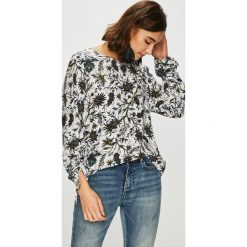 Medicine - Bluzka Vintage Revival. Szare bluzki damskie MEDICINE, z tkaniny, casualowe, z okrągłym kołnierzem. Za 99.90 zł.