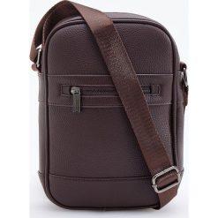 Mała torba na ramię - Brązowy. Torby na ramię męskie marki Kazar. W wyprzedaży za 49.99 zł.
