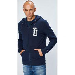 Tommy Jeans - Bluza. Niebieskie bluzy męskie Tommy Jeans, z jeansu. W wyprzedaży za 319.90 zł.