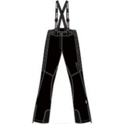 Brugi Spodnie damskie 2AJL-E61 Nero Nero r. S. Spodnie snowboardowe damskie Brugi. Za 200.81 zł.