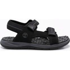 Timberland - Sandały. Czarne sandały męskie Timberland, z gumy. W wyprzedaży za 239.90 zł.