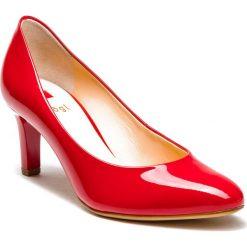 Półbuty HÖGL - 0-186004 Red 4000. Czerwone półbuty damskie HÖGL, z lakierowanej skóry, eleganckie. Za 429.00 zł.