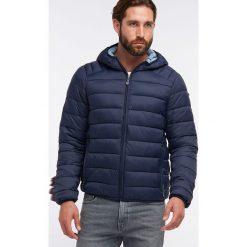 Kurtka zimowa w kolorze granatowym. Niebieskie kurtki męskie Dreimaster, na zimę. W wyprzedaży za 259.95 zł.