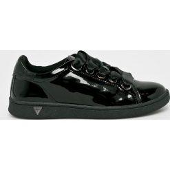 Guess Jeans - Buty. Czarne obuwie sportowe damskie Guess Jeans, z gumy. W wyprzedaży za 349.90 zł.