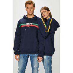 Fila - Bluza. Szare bluzy męskie Fila, z nadrukiem, z bawełny. W wyprzedaży za 299.90 zł.
