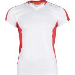 Spokey Koszulka piłkarska TS821-MS16-00X biało-czerwona r. S. T-shirty i topy dla dziewczynek marki bonprix. Za 19.99 zł.