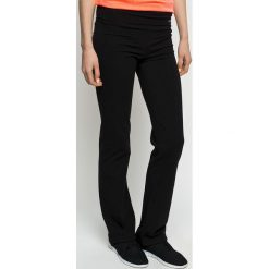 Only Play - Spodnie Fold. Czarne spodnie sportowe damskie Only Play, z bawełny. W wyprzedaży za 84.90 zł.