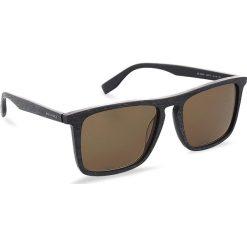 Okulary przeciwsłoneczne BOSS - 0320/S Mtblue Wood 2FW. Niebieskie okulary przeciwsłoneczne męskie Boss, z tworzywa sztucznego. W wyprzedaży za 399.00 zł.
