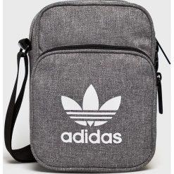 Adidas Originals - Saszetka. Szare saszetki męskie adidas Originals, z materiału, casualowe. W wyprzedaży za 99.90 zł.