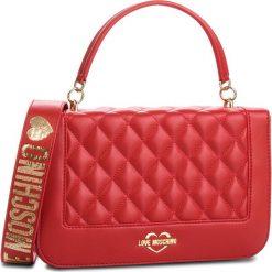 Torebka LOVE MOSCHINO - JC4211PP06KA000B Rosso. Czerwone torebki do ręki damskie Love Moschino, ze skóry ekologicznej. Za 919.00 zł.