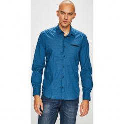 S. Oliver - Koszula. Niebieskie koszule męskie S.Oliver, z bawełny, z klasycznym kołnierzykiem, z długim rękawem. W wyprzedaży za 129.90 zł.