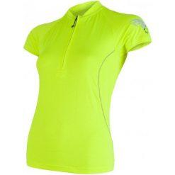 Sensor Damska Koszulka Rowerowa Z Krótkim Rękawem Cyklo Entry Yellow Reflex. Żółte koszulki sportowe damskie Sensor, z materiału, z krótkim rękawem. W wyprzedaży za 119.00 zł.