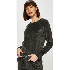 Calvin Klein Jeans - Bluza. Czarne bluzy damskie Calvin Klein Jeans, z bawełny. Za 279.90 zł.