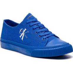 Trampki CALVIN KLEIN JEANS - Iaco S0593 Nautical Blue. Niebieskie trampki męskie Calvin Klein Jeans, z gumy. Za 469.00 zł.