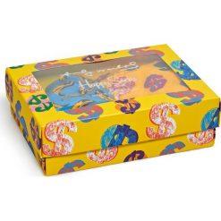 Happy Socks - Bokserki Andy Warhol. Brązowe bokserki męskie Happy Socks, z bawełny. W wyprzedaży za 169.90 zł.
