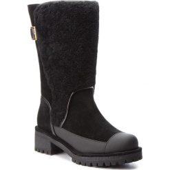 Kozaki TORY BURCH - Sloan Shearling Boot 49198 Perfect Black/Perfect Black 004. Czarne kozaki damskie Tory Burch, z materiału. W wyprzedaży za 1,679.00 zł.