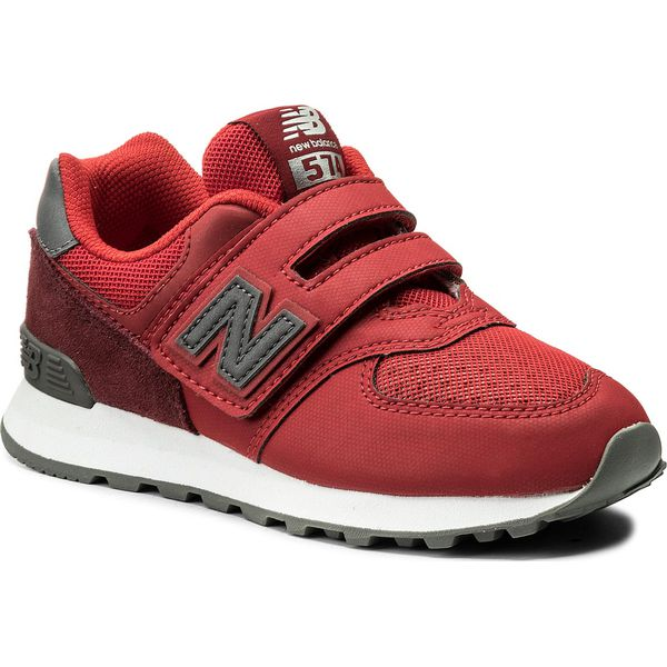 eac02f7f283de Sneakersy NEW BALANCE - YV574D1 Czerwony - Trampki i tenisówki ...