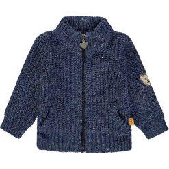 Sweter rozpinany w kolorze granatowym. Swetry dla chłopców marki Reserved. W wyprzedaży za 197.95 zł.