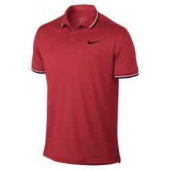 Nike Koszulka Tenisowa M Nkct Dry Polo Solid Pq Red M. Czerwone koszulki polo męskie Nike. Za 149.00 zł.