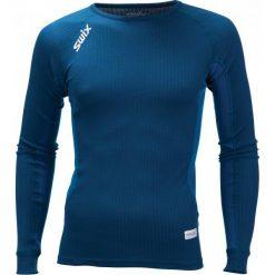 Swix Koszulka Funkcyjna Męska Racex Niebieski Xl. Niebieskie koszulki sportowe męskie Swix, z długim rękawem. Za 149.00 zł.