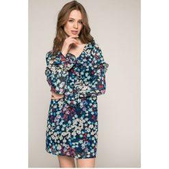 Answear - Sukienka Garden of Dreams. Sukienki damskie ANSWEAR, z poliesteru, casualowe, z długim rękawem. W wyprzedaży za 99.90 zł.