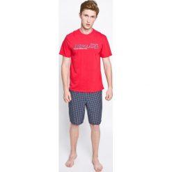 Henderson - Piżama Mood. Szare piżamy męskie Henderson, z bawełny. W wyprzedaży za 59.90 zł.